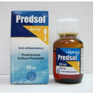 PREDSOL 50 ML SYR
