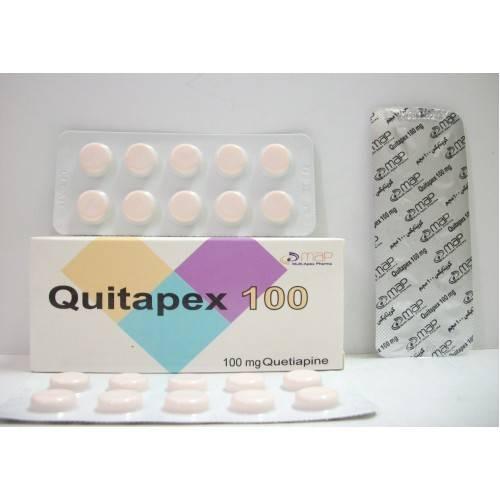 QUITAPEX 100MG 30TAB