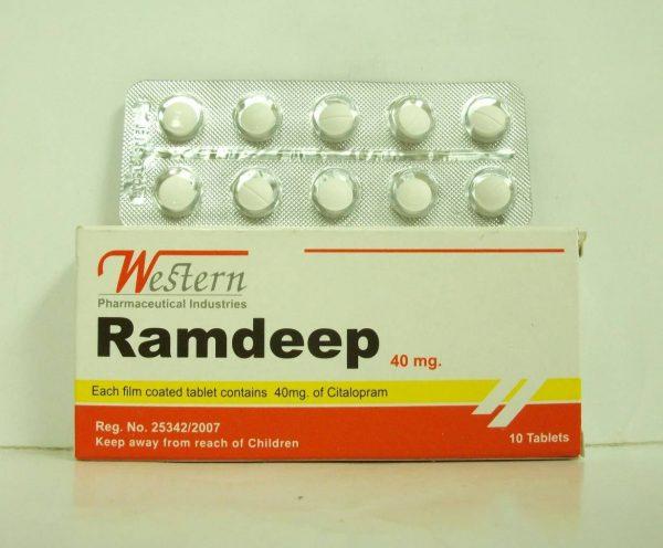 RAMDEEP 40MG 10TAB