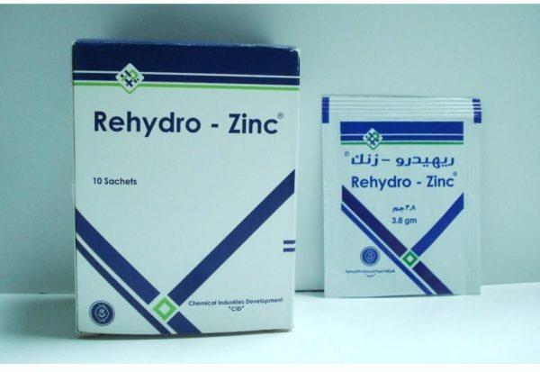 REHYDRO ZINC 10SACHETS