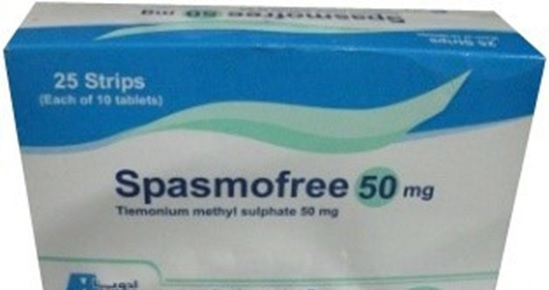 SPASMOFREE50MG