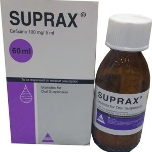 SUPRAX 100MG 60CC SUSP.