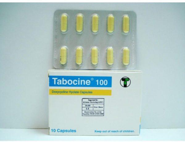 TABOCINE 100 MG 10 TAB