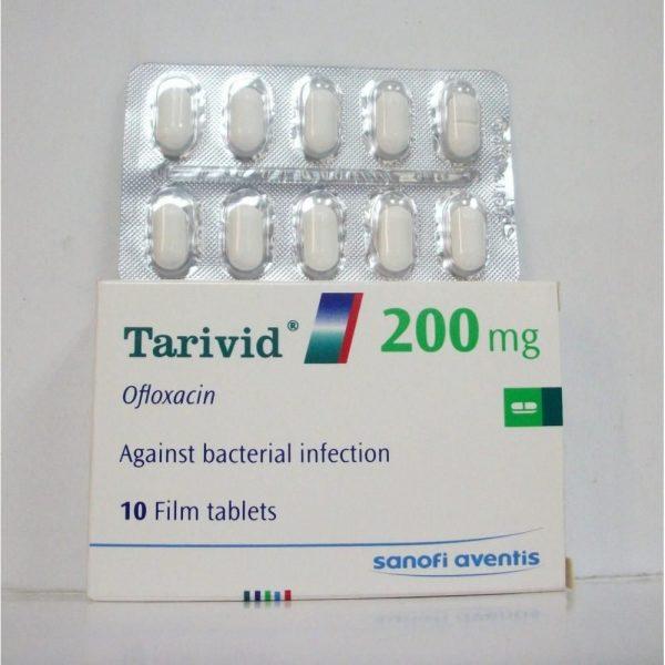 TARIVID 200 MG 10 TAB