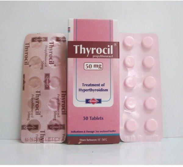 THYROCIL 50MG 30TAB