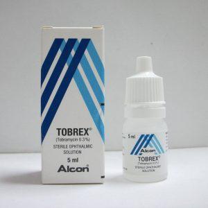 TOBREX 0.3 5ML EYE DROPS