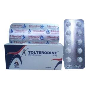 TOLTERODINE 2 MG 30 TAB