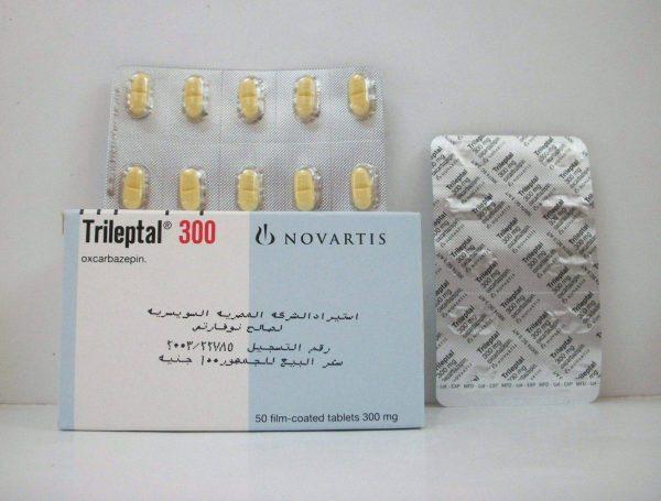 TRILEPTAL 300 MG 50 TAB