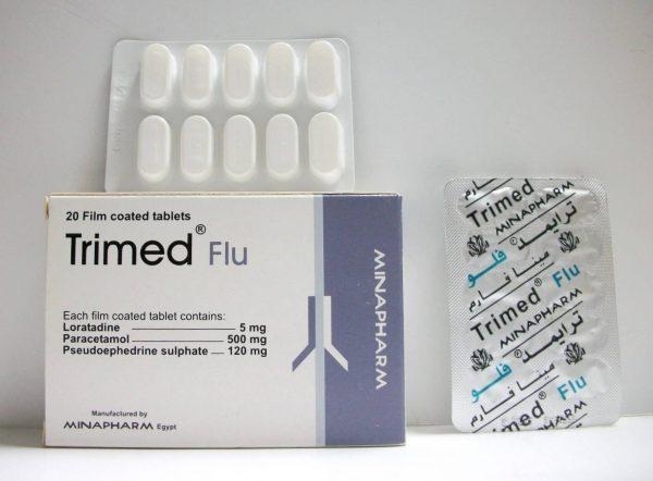 TRIMED FLU 20TAB