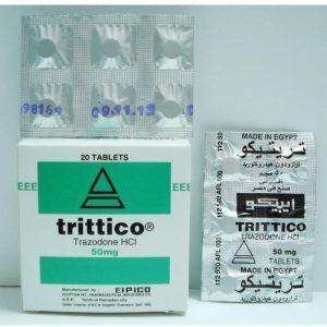TRITTICO 50 MG 20 TAB