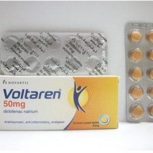 VOLTAREN 50 MG 20 TAB