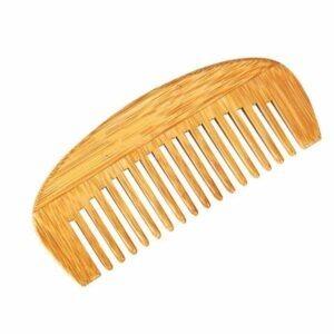 WOOD HAIR COMB