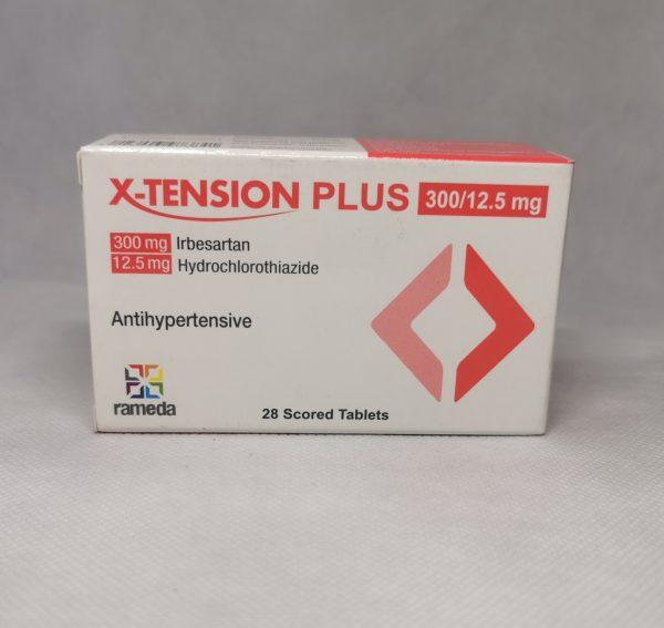 X TENSION 30012.5MG 28TAB.