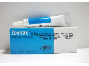 ZOVIRAX 4.5GM E.O.