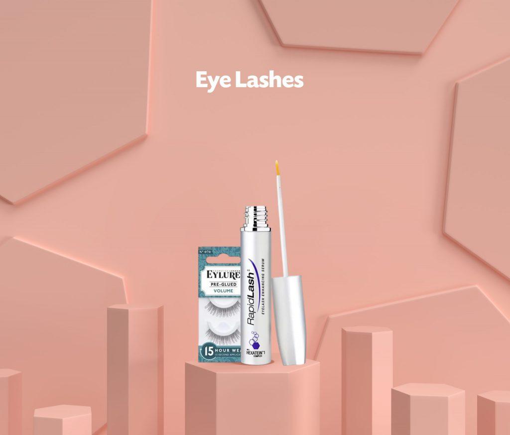 eye lashes scaled