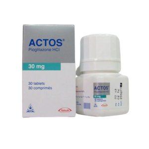ACTOS 30 MG 30 TAB