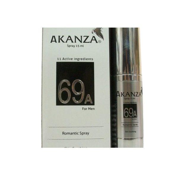 AKANZA 69A FOR MEN SPRAY