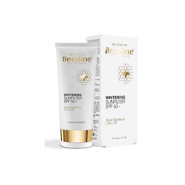 BEESLINE WHITENING BODY LOTION SUN FILTER 50