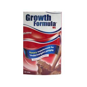 GROWTH FORMULA CHOCO 400GR