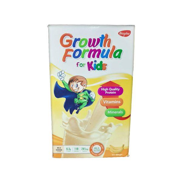 GROWTH FORMULA KIDS BANANA.