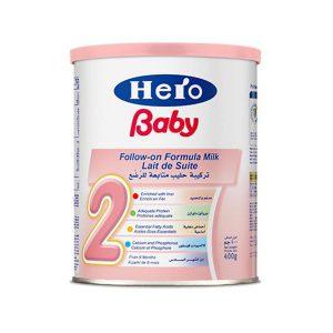 HERO BABY 2 MILK 400 GM