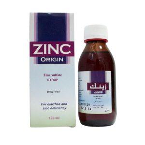 ZINC ORIGIN SYR 120ML