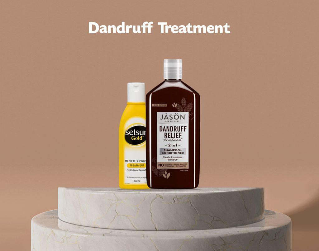dandruff treadment