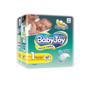 BABY JOY 1 60 DIAPERS