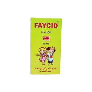 FAYCID HAIR OIL 60ML.