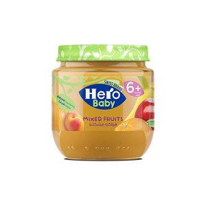 HERO MIXED FRUITS 6 JAR 120GM