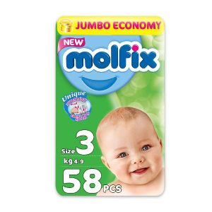 MOLFIX 3 58 DIAPERS