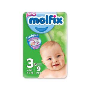 MOLFIX 3 9 DIAPERS