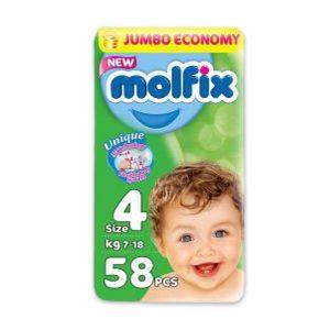 MOLFIX 4 58 DIAPERS