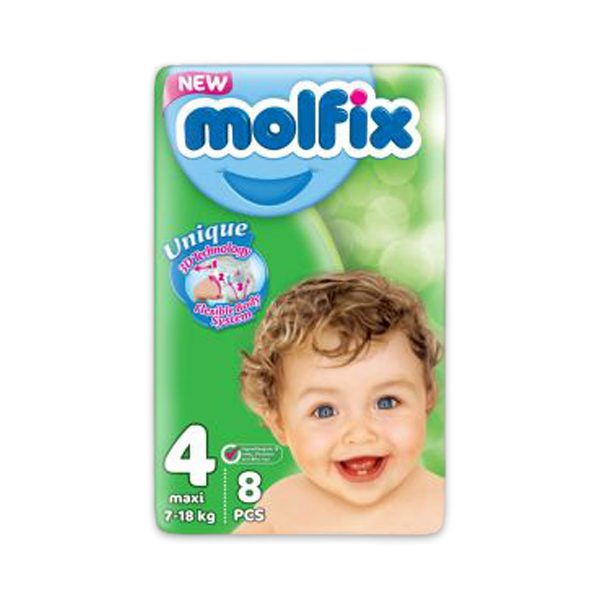 MOLFIX 4 8 DIAPERS