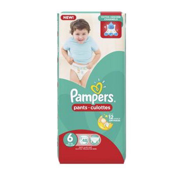 PAMPERS 6 48 PANTS.