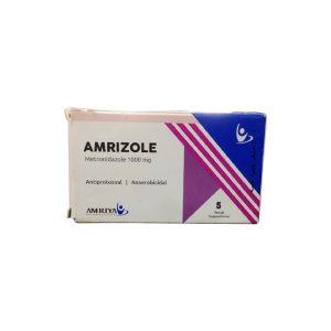 Amrizole 1000mg 5 rectal supp