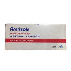Amrizole 250mg 20 F.C tablets