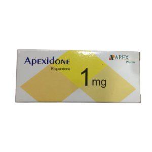 Apexidone 1 mg 20 F.C tablets.