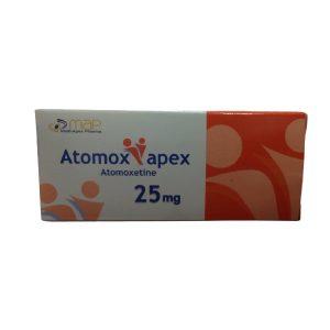 Atomox apex 25mg 30 tablets