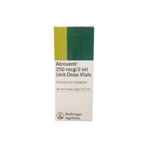 Atrovent 250mcg 2ml 20 unit dose