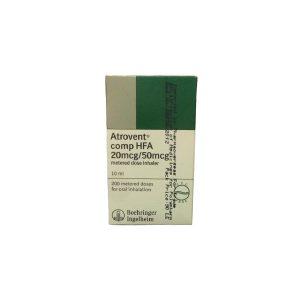 Atrovent comp HFA metered dose inhaler 20mcg 50mcg