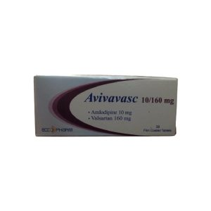Avivavasc 10 160 mg 28 F.C tablets
