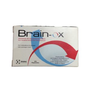 Brain Ox 20 caps.