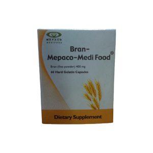 Bran 60 hard gelatin capsules