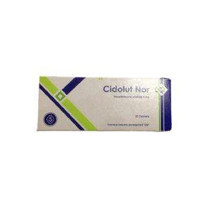 Cidolut Nor 5mg 20 tablets