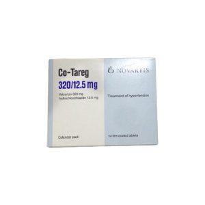 Co Tareg 30 12.5 mg.14F.C tablets.