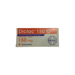 Diclac 150 mg 10 retard tablets