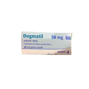 Dogmatil 50mg 30 hard gelatin capsules.