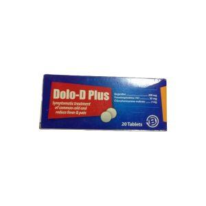 Dolo D Plus 20 tabs