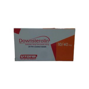 Downsterolin 10 40 mg 28 Film coated tablets